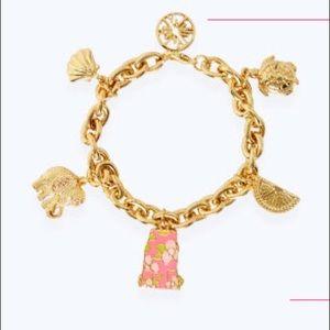 NWT Lilly Pulitzer Charm Bracelet